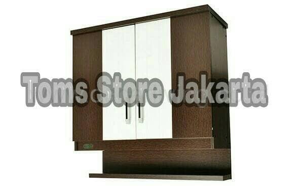 Jual Kitchen Set Atas 2 Pintu Rak Bumbu Toms Store Jakarta Tokopedia