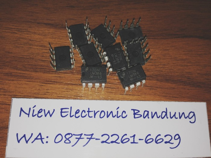 Jual IC LM386/ IC LM 386/ Low Voltage Audio Power Amplifier LM386 - Kab   Bandung - Niew Electronic | Tokopedia