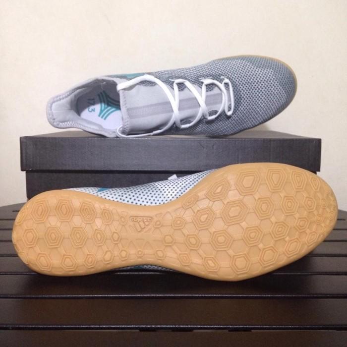 Jual Sepatu Futsal Adidas X Tango 17.3 IN Grey Energy Blue CG3715 ... 7b896ed734406