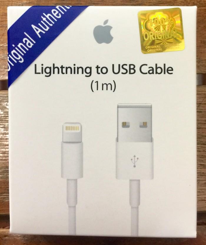 harga Kabel data iphone 5/6/ ipad mini original Tokopedia.com