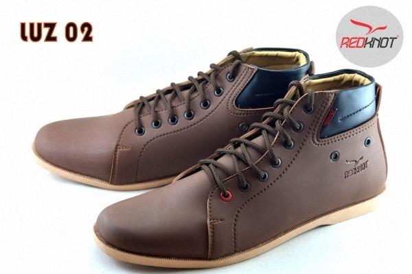 harga Sepatu redknot luz brown casual pria Tokopedia.com