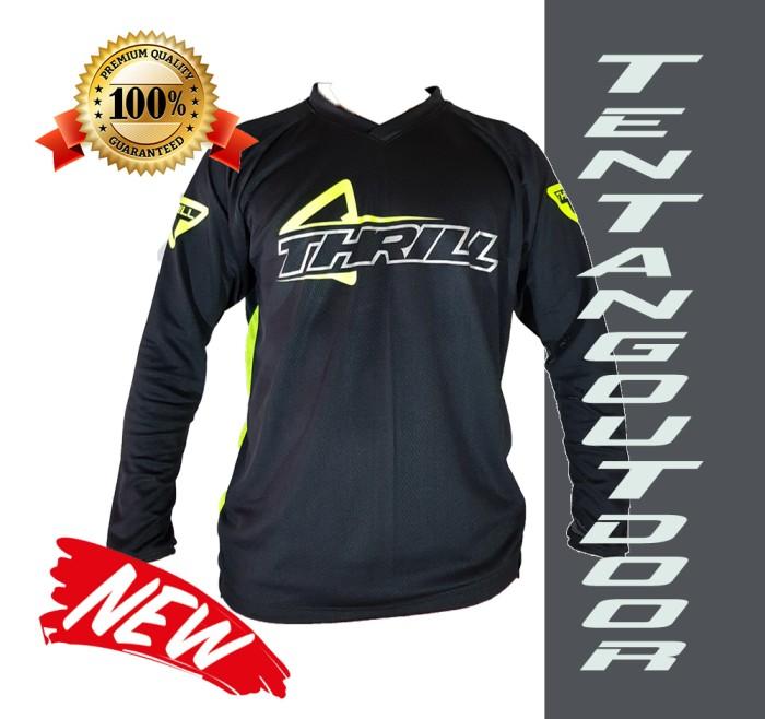 harga Premium jersey downhill cross sepeda dh thrill baju kaos f003 mtb bmx Tokopedia.com