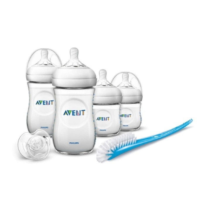 harga Philips avent natural 2.0 newborn starter set pp / botol susu bayi Tokopedia.com