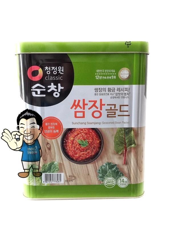 harga Daesang sunchang ssamjang soybean paste- saus sambal tauco 14kg Tokopedia.com