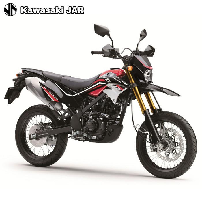 harga Kawasaki d-tracker 150 special edition - red Tokopedia.com