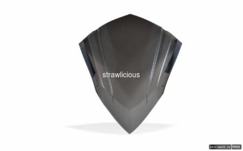 harga Tgp visor vario 150 injection/aksesoris/variasi motor/wind shie Tokopedia.com