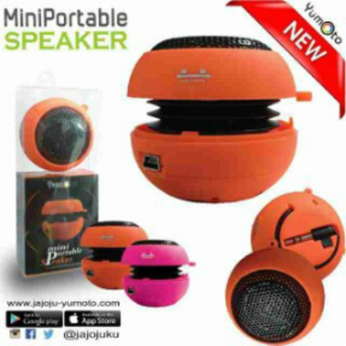 harga Speaker mini portable hp yumoto Tokopedia.com