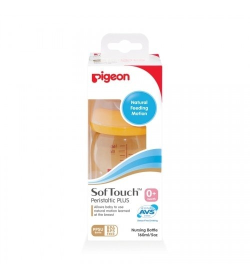 harga Pigeon softouch peristaltic plus wide neck bottle pp 160ml Tokopedia.com