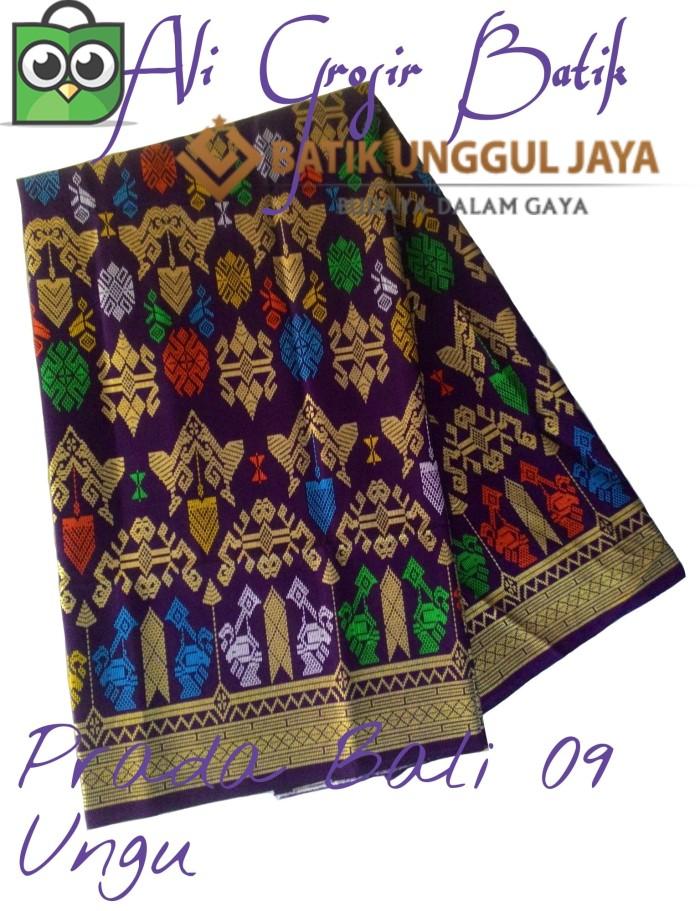 Jual Kain Batik Pekalongan Primisima Halus Prada Bali 09 Ungu Unggul ... c5156b7e24