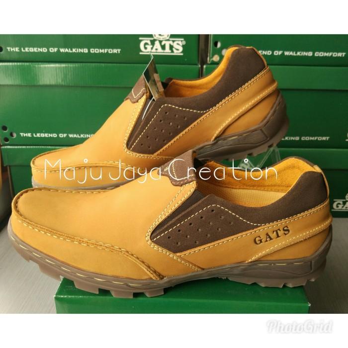 Jual Sepatu GATS Kulit Casual Pria Keren Original Murah To 2205 ... cef8bbf89d