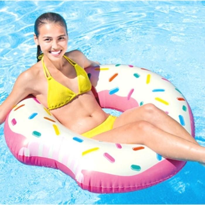 harga Pelampung renang donat donut tube 1.07mx99cm - intex 59265 Tokopedia.com