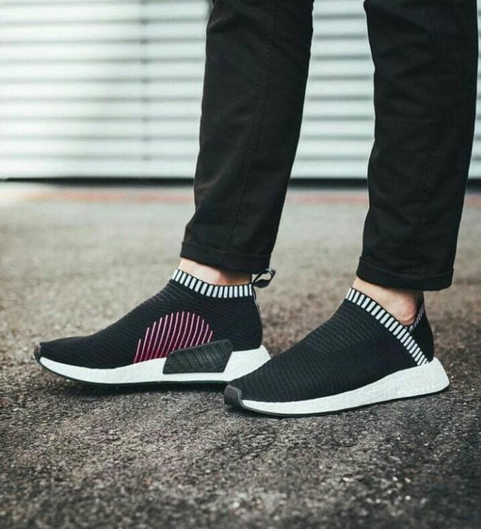 Jual Adidas NMD CS2 Primeknit Core Black Purple DKI Jakarta 7deadlysneakers | Tokopedia