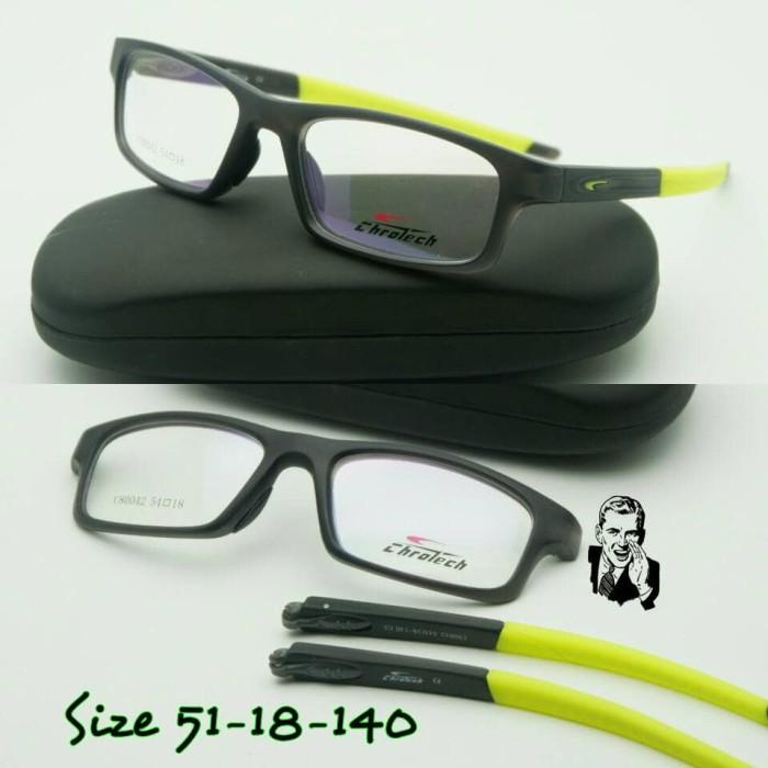 Jual Kacamata Chrotech 80042 Black Yellow Frame Kacamata Original ... 13549f7979