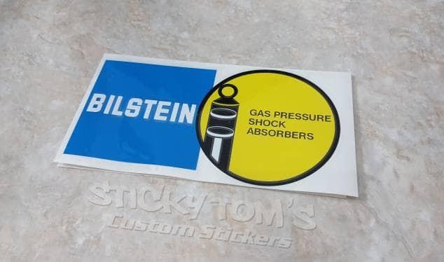 harga Stiker logo bilstein shock absorber keren gan buat di mobil atau motor Tokopedia.com
