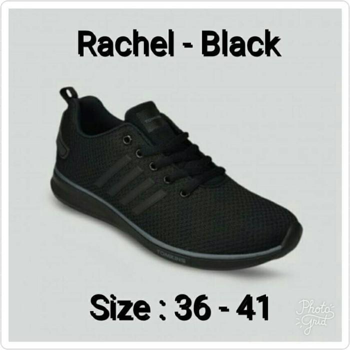 harga Sepatu sneakers tomkins original rachel black Tokopedia.com
