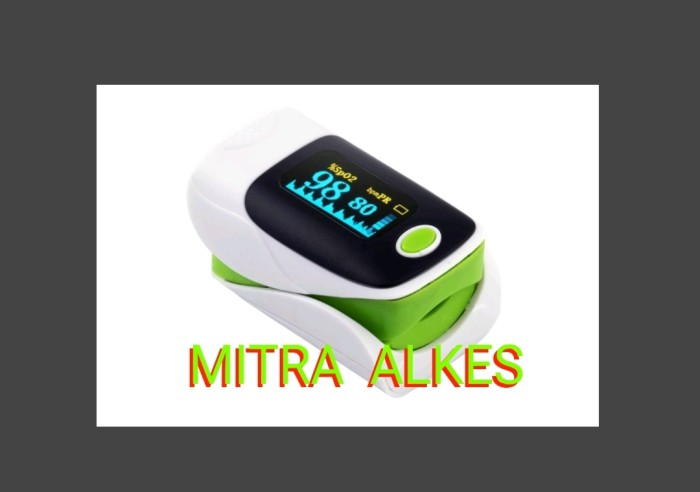 harga Fingertip Pulse Oximeter / Oxi Meter/ Saturation Spo2 Monitor Oxymeter Tokopedia.com