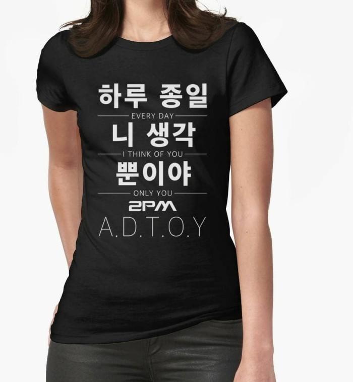 Jual K-POP/Kaos/Baju/T-Shirt/2PM A D T O Y - DKI Jakarta - K-POP Apparel    Tokopedia