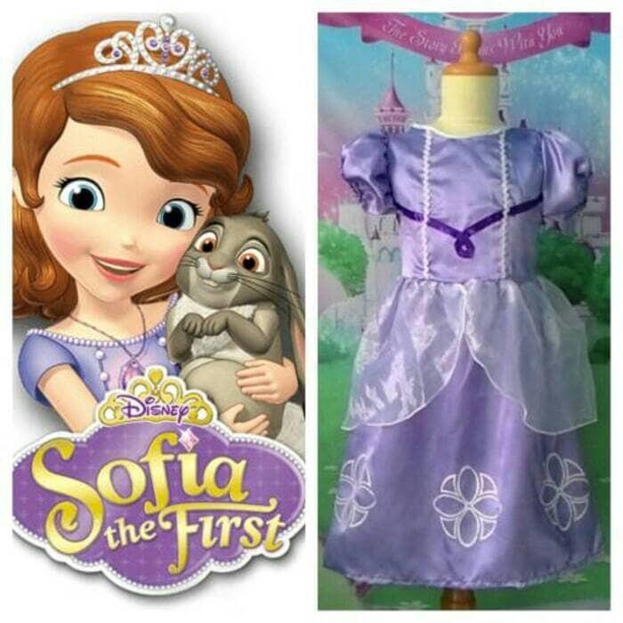 harga Baju Anak Perempuan Baju Pesta Anak Kostum Princess Sofia Tokopedia.com
