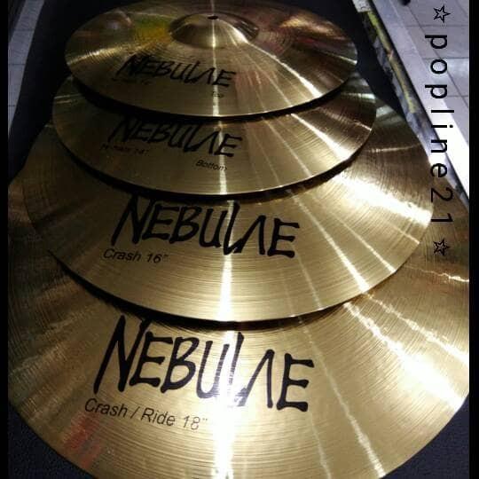 harga Cymbal nebulae set 18  ( 14-16-18 ) Tokopedia.com