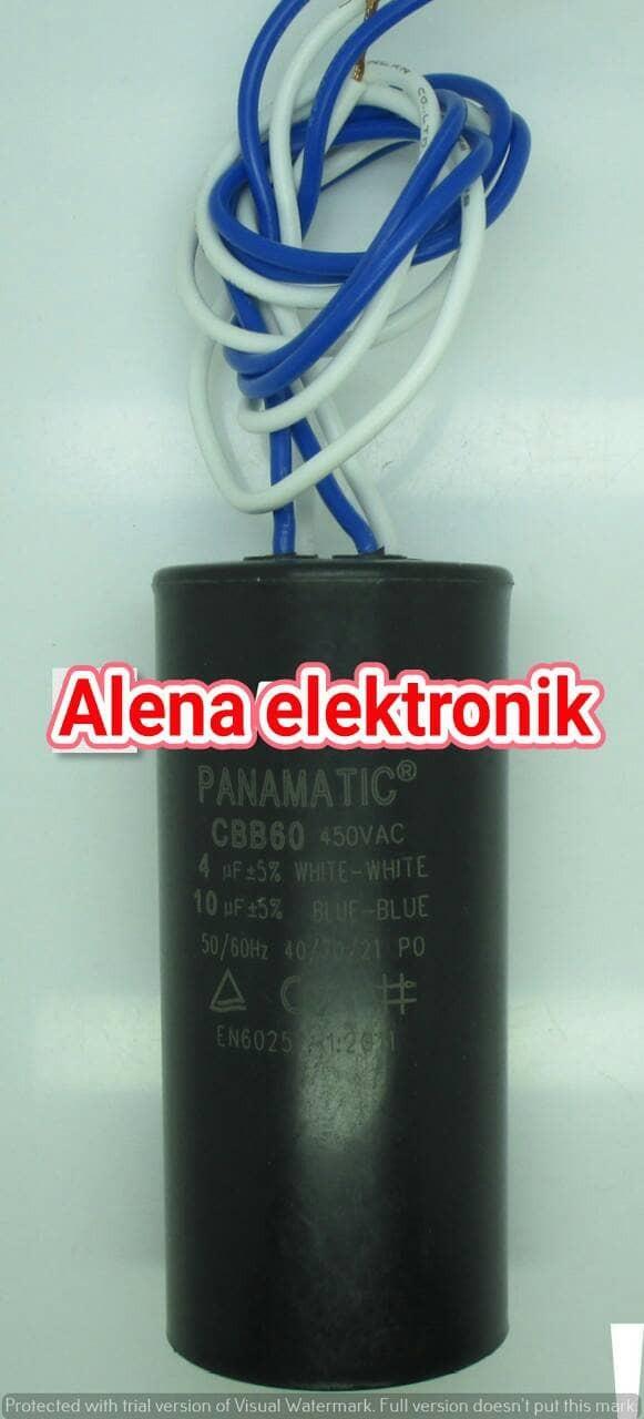 harga Kapasitor / capasitor mesin cuci 4+10uf 450v Tokopedia.com