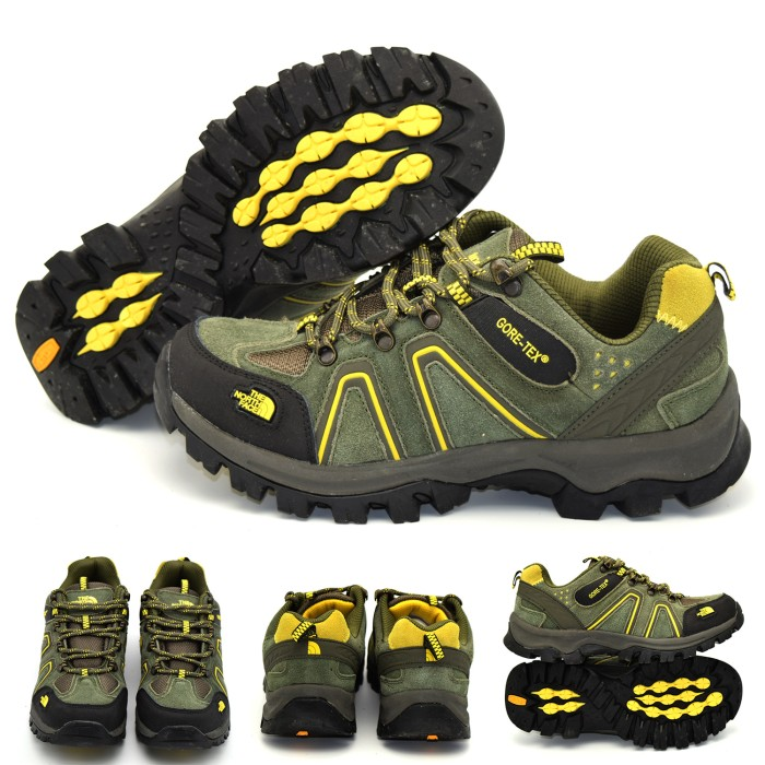 harga The north face sepatu tnf import/ sepatu kulit gunung/ outdoor sport Tokopedia.com