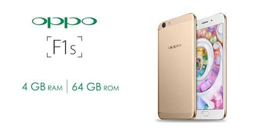 harga Oppo f1s 4gb / 64gb garansi resmi - gold + exclusive leather case Tokopedia.com