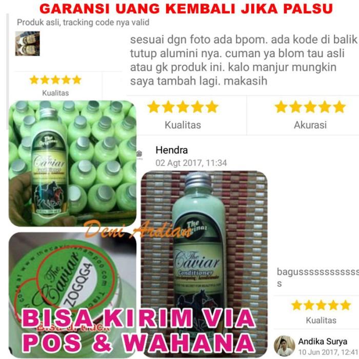 harga Garansi / conditioner caviar / conditioner kuda original obat rambut Tokopedia.com