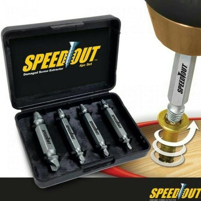 harga Speed out damage screw extrator pembuka baut rusak Tokopedia.com