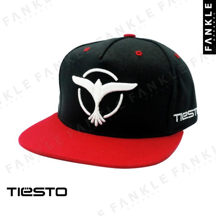 Jual TIESTO BLACK RED SNAPBACK - FANKLE APPAREL  158f900c72b