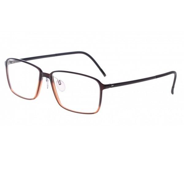 Silhouette kacamata pria brown f si 2887 11 6054 55 b0d44e4c5f