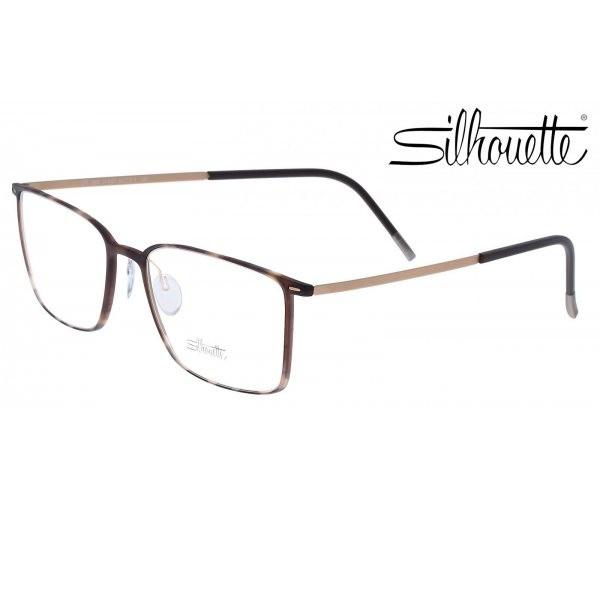 Silhouette kacamata pria brown f si 2886 21 6053 55 a53cf4ff28