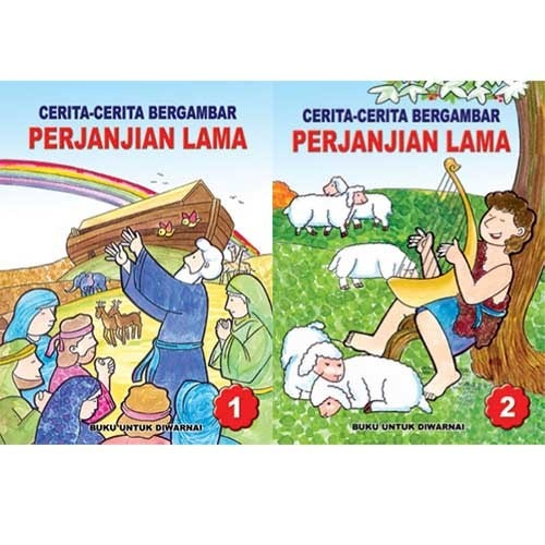 Jual Seri Sahabat Anak Mewarnai Sambli Membaca Cerita Alkitab
