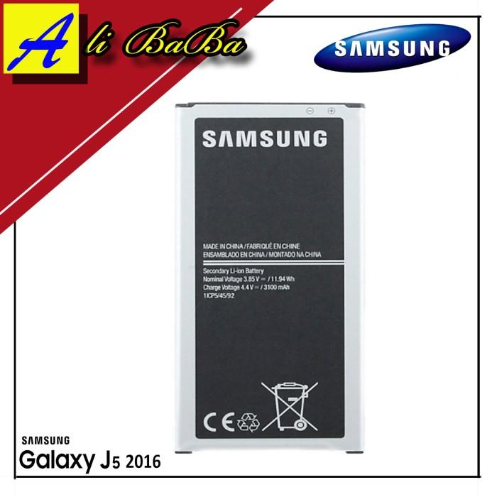 harga Baterai handphone samsung galaxy j510 j5 2016 batre hp battery samsung Tokopedia.com