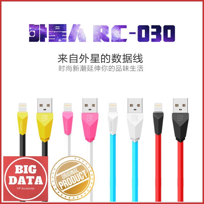 dc891147d67 Jual Kabel Data Remax Alien Fast Charging RC-030i| Lightning Cable ...