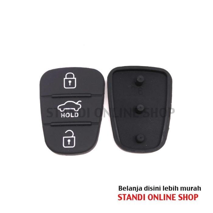 2 Lipat Tombol Remote Kunci Flip Case Selubung Penutup Yg Belum Source · Karet tombol kunci