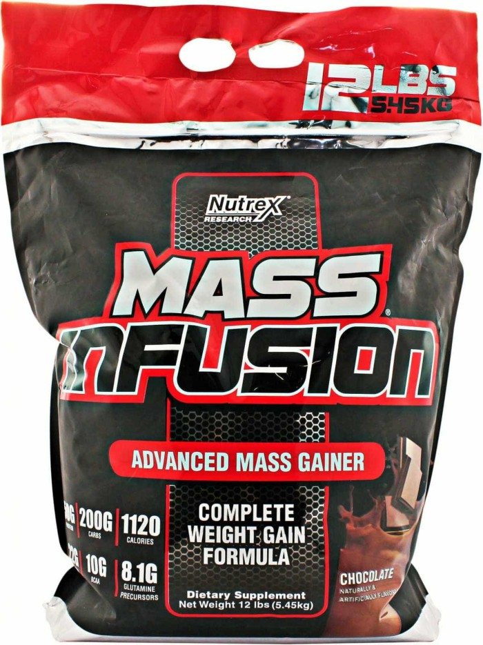 harga Nutrex mass infusion 12 lb whey protein gainer serious mass Tokopedia.com