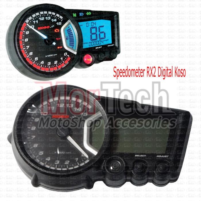 harga Speedometer - spedometer - spidometer koso digital variasi rx2 Tokopedia.com