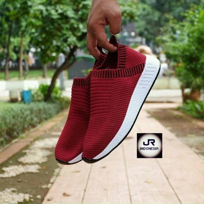 6fb63d729 ... harga Sepatu sneakers adidas nmd cs2 pk red glitch grade original 40-44  Tokopedia.