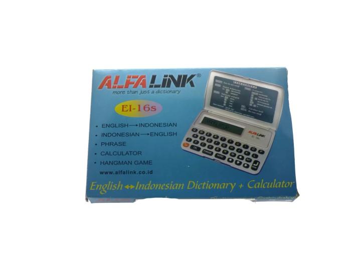 Kamus Elektronik Alfalink EI-16s