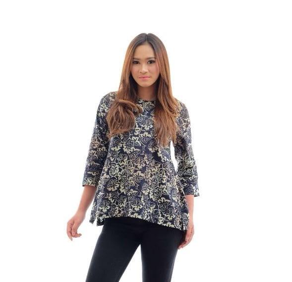 harga Cpt013b Atasan Batik Cap Smoke Baju Wanita Murah Blouse Tokopedia.com