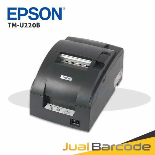harga Printer pos struk dot matrix epson tmu220b - tmu 220 b - 220b auto cut - paralel Tokopedia.com