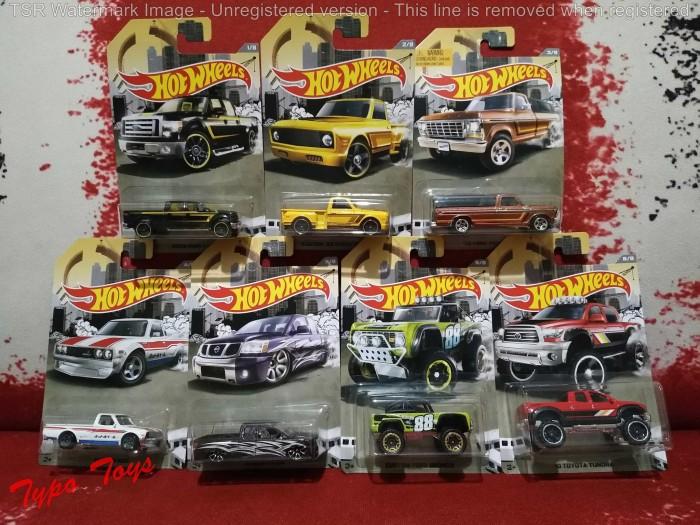 Hot Wheels/ Hotwheels seri mobil pick up - 1 set isi 7 pcs