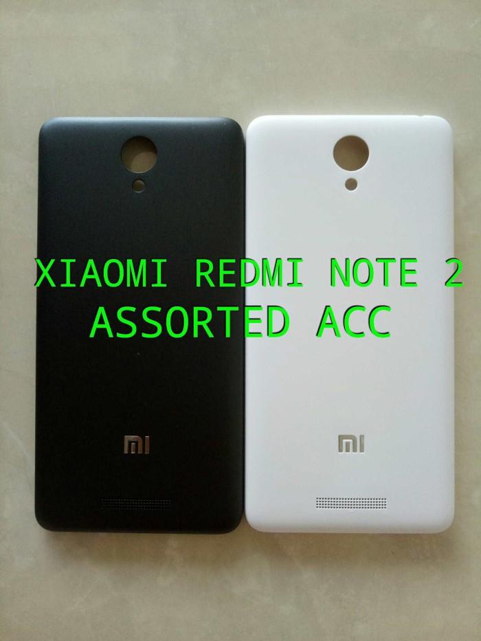 ... harga Back cover/back door/casing tutupan belakang xiaomi redmi note 2 Tokopedia.