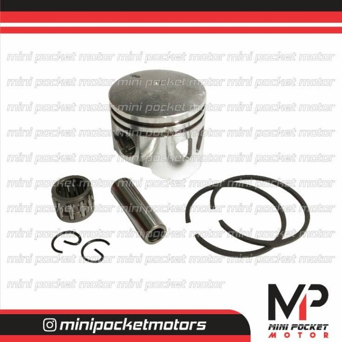 harga Piston set 44mm racing lubang motor mini gp / mini trail / pocket bike Tokopedia.com