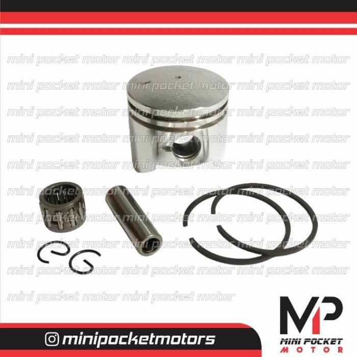 harga Piston set 44mm motor mini gp / mini trail / pocket bikes Tokopedia.com