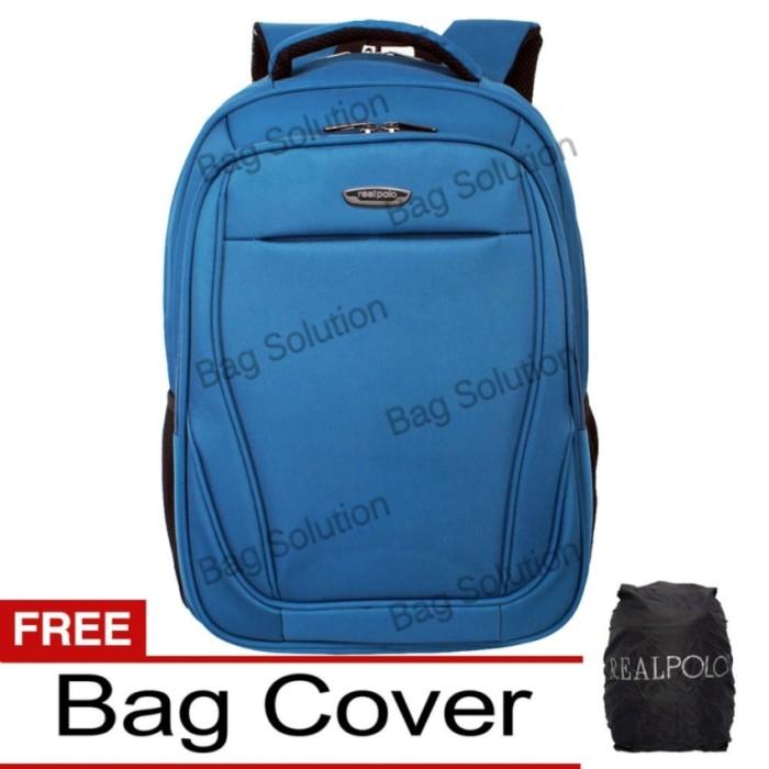 Real Polo Tas Ransel Laptop Tahan Air 8316 Backpack Up