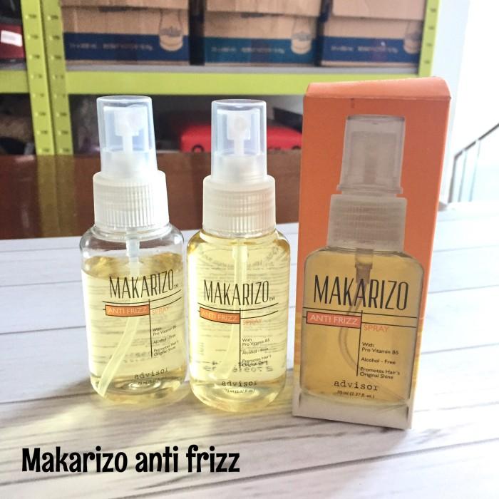 ... Advisor Perawatan Untuk Rambut Kering & Rusak 70ml. Makarizo Anti Frizz Shopee Indonesia Source · Makarizo Anti Frizz Spray 70 ml murah perawatan rambut