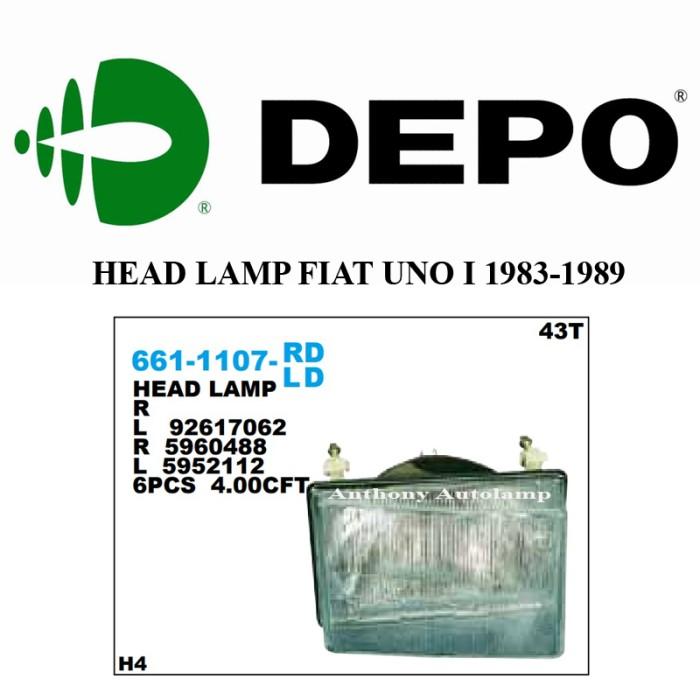 harga Lampu depan fiat uno i 1983-1989 1 set Tokopedia.com