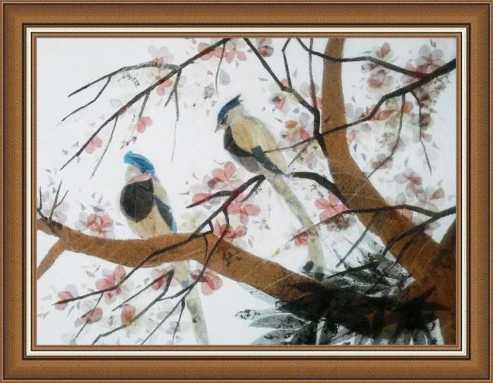 Jual Lukisan Flora Dan Fauna Jakarta Selatan Klaras Painting Tokopedia