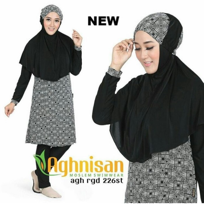 aghnisan collection baju renang muslimah standar
